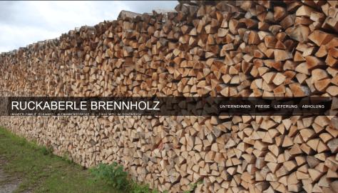 Ruckaberle Brennholz